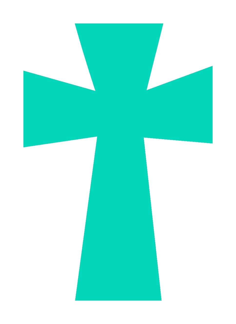 Set Of 4 Crosses Svg Files