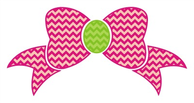 27+ Chevron Bow Monogram Svg, Eps, Dxf And Png Cut Files DXF