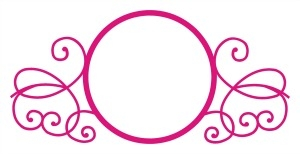 Scroll Monogram Frame 1 SVG