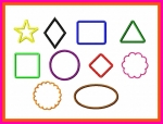 Applique Shapes Set