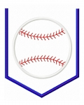 Baseball Pocket Applique