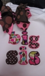 Big Lil Sis Bro Applique Designs