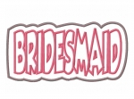 Bridesmaid Double Applique