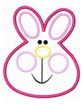 Bunny Face Applique