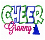 Cheer Granny Applique
