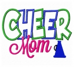 Cheer Mom Applique