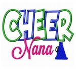 Cheer Nana Applique