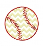 Chevron Baseball Stitched