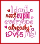 Don't Need Cupid Saying