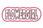 Flowergirl Double Applique Design