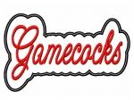 Gamecocks Script Applique