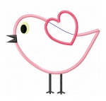Love Bird Applique