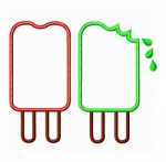 Popsicles Double Applique