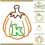 Pumpkin Applique Group