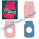 Quatrefoil Mason Jar Bundle