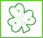 Shamrock Applique Design
