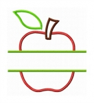 Split Apple Applique