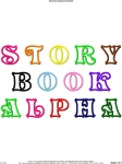Storybook Applique Alphabet