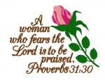 A Woman Who Fear The Lord Saying