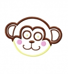 Monkey Head Applique