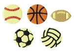 Sports Balls Filled Set
